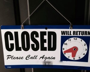 """If it says """"closed"""" that's your sign to respect my mental health"""