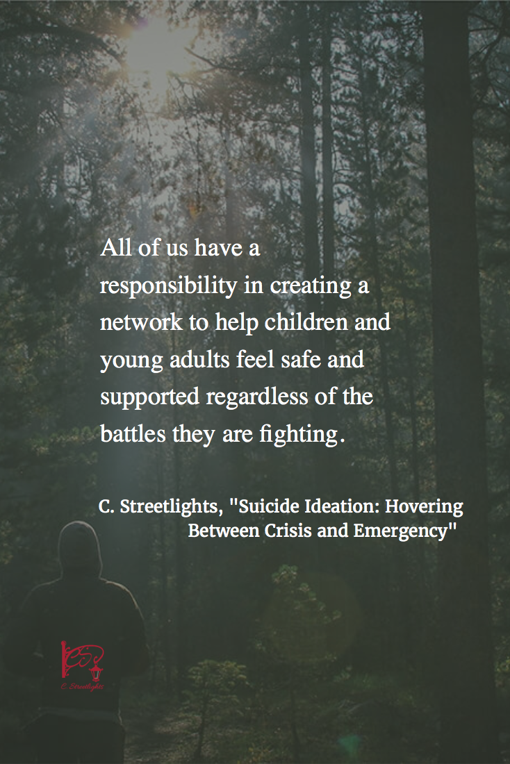 Suicide Ideation: Hovering Between Crisis and Emergency
