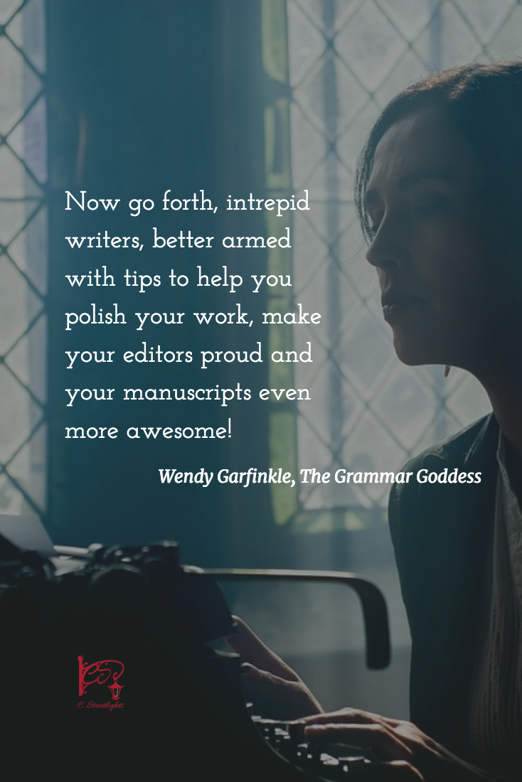 Wendy Garfinkle shares her editing pet peeves