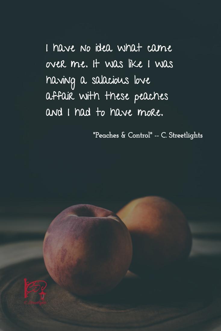 #Peaches #Control